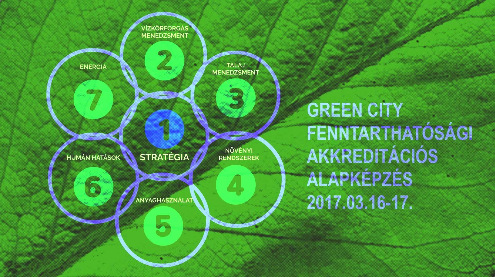 green city akkreditációs képzés